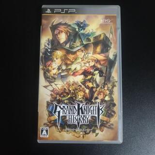 プレイステーションポータブル(PlayStation Portable)のグランナイツヒストリー PSP(携帯用ゲームソフト)