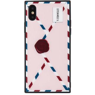 アイフォリア(IPHORIA)のiPhoneX.XS iPhoria 新品 ピンク(iPhoneケース)