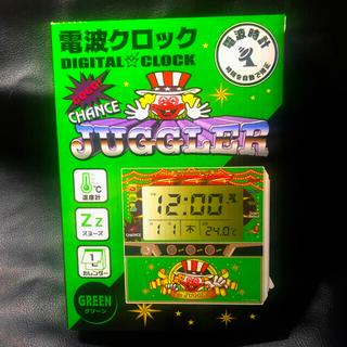 キタデンシ(北電子)のジャグラー    電波クロック デジタルクロック 電波時計(パチンコ/パチスロ)