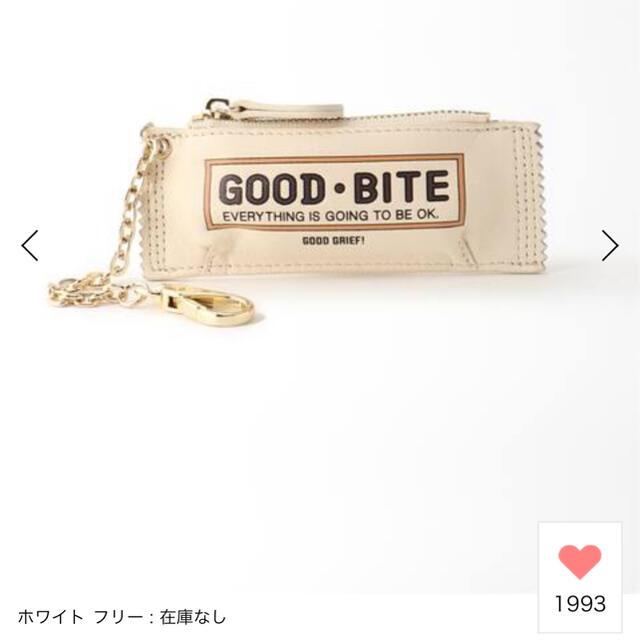 DEUXIEME CLASSE(ドゥーズィエムクラス)のGOOD GRIEF/グッド グリーフGOOD BITE MINI CASE   レディースのファッション小物(キーホルダー)の商品写真