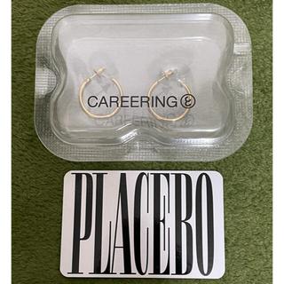 クロムハーツ(Chrome Hearts)のPLACEBO 701T  CAREERING  YW キャリアリング(ピアス(両耳用))