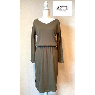 アズールバイマウジー(AZUL by moussy)のAZUL BY MOUSSY ♡ワンピース    お値下げしました‼️(ひざ丈ワンピース)