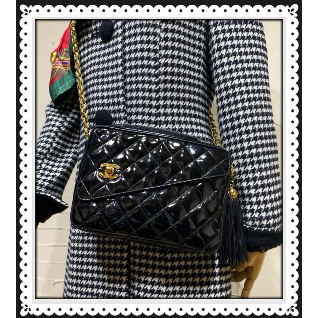 CHANEL(シャネル)の VINTAGE CHANEL マトラッセ チェーンショルダーバッグ レディースのバッグ(ショルダーバッグ)の商品写真