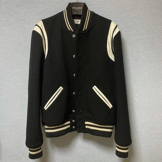 サンローラン(Saint Laurent)の【名作】Saint Laurent Paris Teddy Jacket 46(スタジャン)
