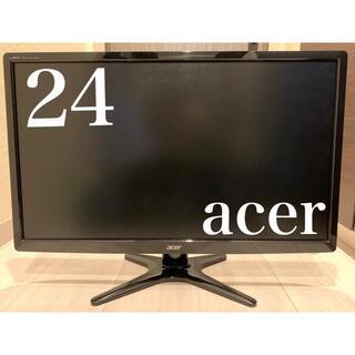 エイサー(Acer)の【即買いOK】acer ACER G246HLABID モニター(ディスプレイ)