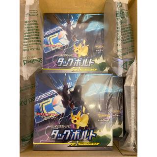 ポケモン(ポケモン)のポケモンカード タッグボルト box 3セット(Box/デッキ/パック)