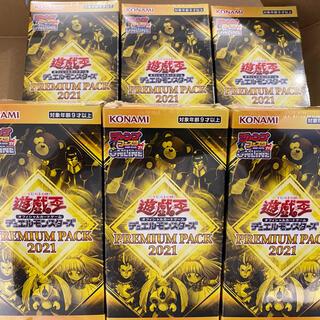 コナミ(KONAMI)の遊戯王 プレミアムパック2021 6BOX(Box/デッキ/パック)