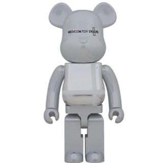 MEDICOM TOY - MEDICOM TOY WHITE CHROME 1000% ベアブリック