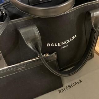 BALENCIAGA BAG - バレンシアガ キャンパスブラックS美品!