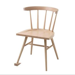 イケア(IKEA)のVIRGIL ABLOH / IKEA Chair Brown チャア(ダイニングチェア)