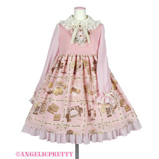 Angelic Pretty - Cream Cookie Collection カットワンピース ピンク