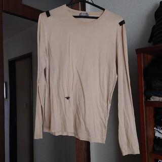 ディオールオム(DIOR HOMME)のディオールオム 2004SS  レザーパッチカットソー XXS(Tシャツ/カットソー(七分/長袖))