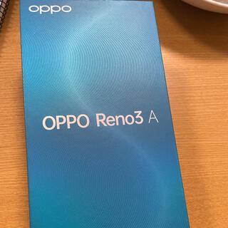 OPPO - OPPO Reno3A ブラック ほぼ新品
