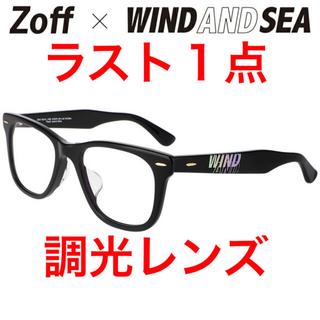 Zoff - 【新品未使用】Zoff×WIND AND SEA コラボサングラス 調光レンズ