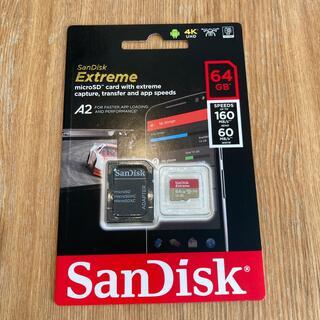 SanDisk - 【SanDisk】64GB microSD EXTREME