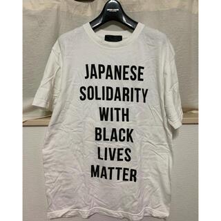 アベイシングエイプ(A BATHING APE)のヒューマンメイド Black Lives Matter チャリティTシャツ (Tシャツ/カットソー(半袖/袖なし))