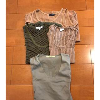 Tシャツ タンクトップ 4枚まとめ売り 美品❗️(Tシャツ/カットソー(半袖/袖なし))