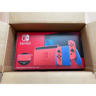Nintendo Switch - Nintendo Switch ニンテンドースイッチ本体 マリオレッド×ブルー