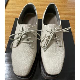 ムルーア(MURUA)のワイドソールローファー(ローファー/革靴)