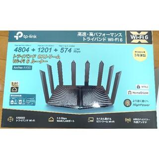 tp-link Archer ax90 AX6600 WiFiルーター 高性能(PC周辺機器)