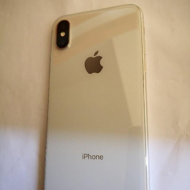 Apple(アップル)の美品 iPhoneX 64gb シルバー 残債なし simフリー スマホ/家電/カメラのスマートフォン/携帯電話(スマートフォン本体)の商品写真