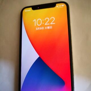 Apple - 美品 iPhoneX 64gb シルバー 残債なし simフリー