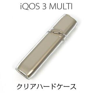 iQOS3 MULTI アイコス ハードケース クリア ストラップホール付(タバコグッズ)