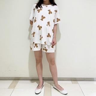 gelato pique - 新品ベアモチーフシャツ&ショートパンツセット
