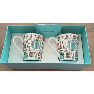 Tiffany & Co. - ティファニー  マグカップ ペア 5TH  アベニュー 新品未使用品