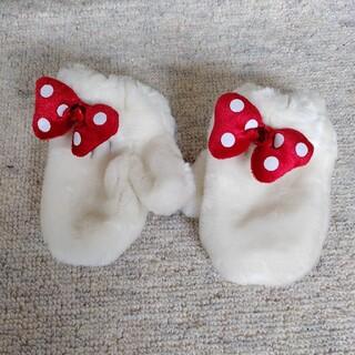 ディズニー(Disney)のミニー風キッズ手袋(手袋)