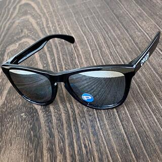 Oakley - フロッグスキン 偏光 ブラック ミラー アジアンフィット オークリー サングラス