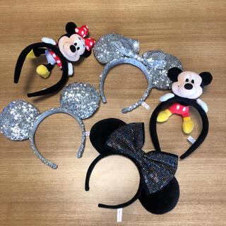 Disney - ディズニー カチューシャ 5点セット