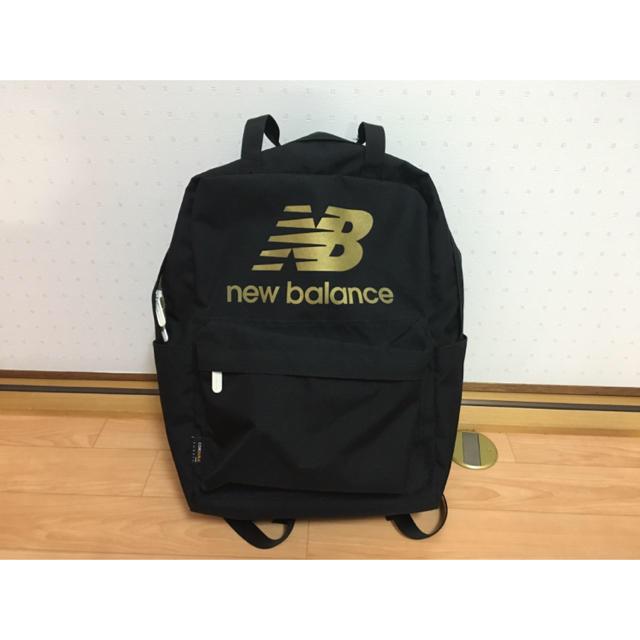 6164d8c6759e7 New Balance(ニューバランス)の値下げ! ニューバランス リュック 黒 レディースのバッグ(リュック