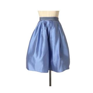 元ディオールデザイナー パリコレブランド ムーンシャインブルースカート(ひざ丈スカート)