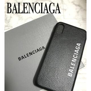 バレンシアガ(Balenciaga)のバレンシアガ BARENCIAGA iPhoneケース アイフォンケース 黒(iPhoneケース)