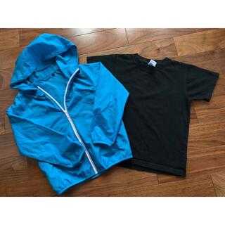 ユニクロ(UNIQLO)のウインドブレーカー Tシャツ セット(ジャケット/上着)