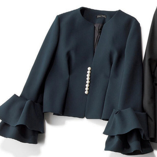BARNEYS NEW YORK - ヨーコチャン♡パールジャケット希少36サイズ