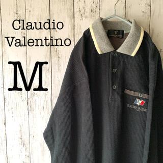 【古着男子×Valentino】90's メンズ トップス セーター黒 ★日本製