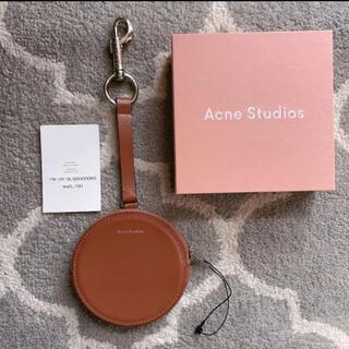 アクネ(ACNE)のacne studios  キーチェーン コインケース ブラウン(コインケース)
