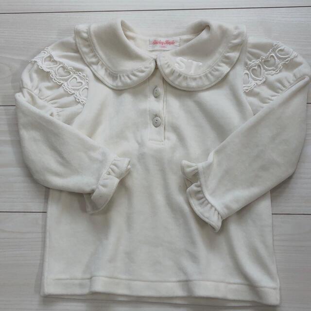 Shirley Temple(シャーリーテンプル)のシャーリーテンプル カットソー 100 キッズ/ベビー/マタニティのキッズ服女の子用(90cm~)(Tシャツ/カットソー)の商品写真