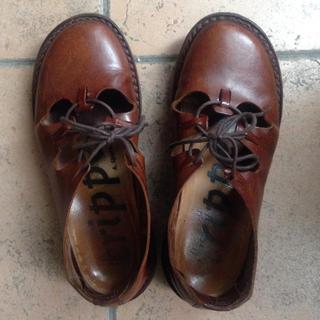 トリッペン(trippen)の【期間限定値下げ】トリッペン オーロラシューズ 35(ローファー/革靴)