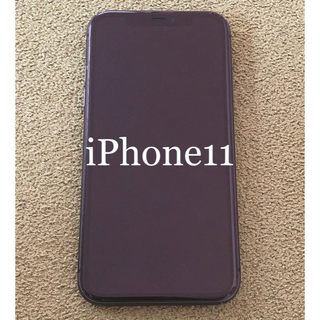 iPhone - SIMフリー iPhone11 64GB ブラック