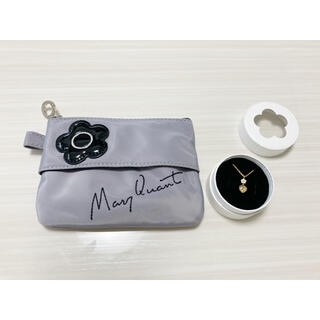 MARY QUANT - 【未使用】MARY QUANT  ネックレス ポーチ