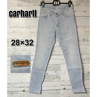 カーハート(carhartt)のcarhartt スキニー デニム ジーンズ RIOT PANT レディース(デニム/ジーンズ)