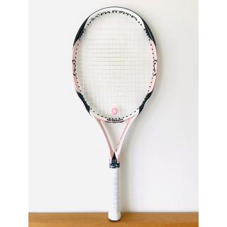 ウィルソン(wilson)の【美品】ウィルソン『ケーストライク K STRIKE』女性向け軽量テニスラケット(ラケット)