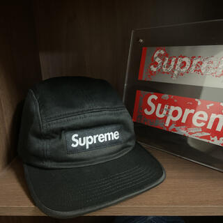 Supreme - SUPREME シュプリーム 17AW Side Zip Camp Cap 黒