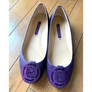 ポロラルフローレン(POLO RALPH LAUREN)のラルフローレン⭐︎サイズ36⭐︎きれいな紫⭐︎革靴(ローファー/革靴)