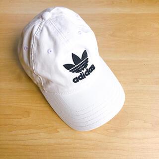 adidas - adidas キャップ 帽子 白 ホワイト original