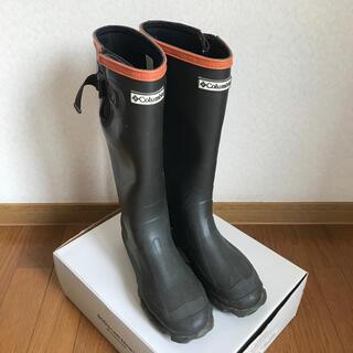 コロンビア(Columbia)のColumbia レインブーツ チャコール 24cm(レインブーツ/長靴)