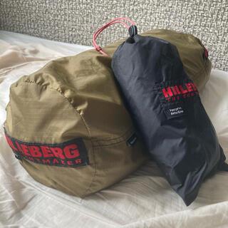 ヒルバーグ(HILLEBERG)の※期間限定値下※美品HILLEBERG Akto サンド 純正フットプリント付き(テント/タープ)